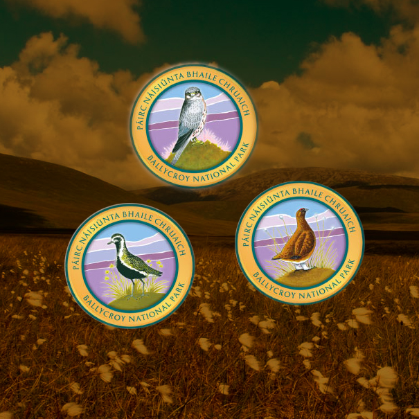 Ballycroy Crests, Illustration & Badge/Crest Design, Co. Mayo, Ireland.