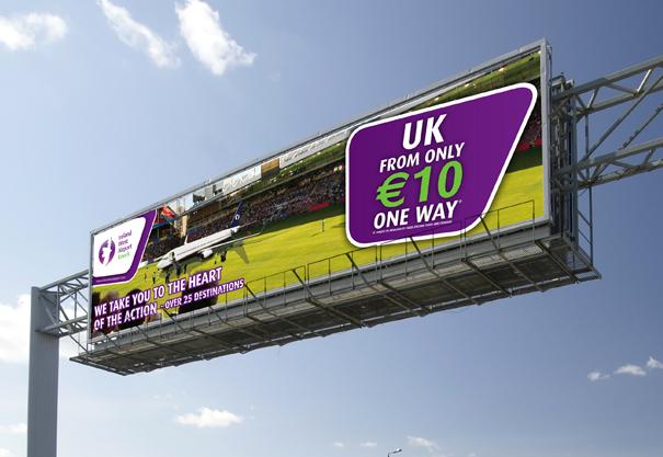 Ireland West Airport Knock, Hello Europe Advertising Campaign 2012, Knock, Charlestown, Co. Mayo, Ireland.