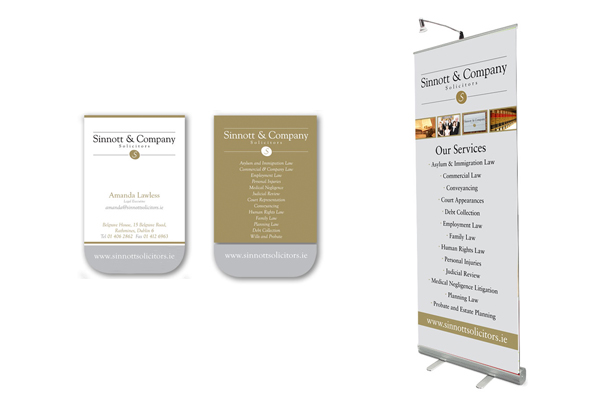pull up banners ireland