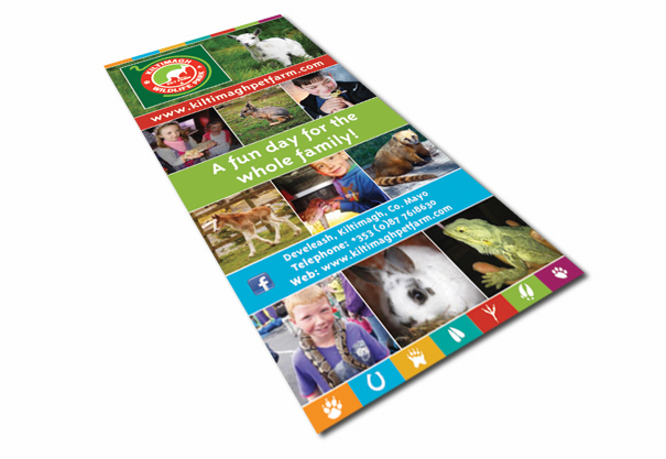 Kiltimagh Pet Farm, Logo Design, Branding Concept Design and Brochure Design, Kiltimagh, Co. Mayo.