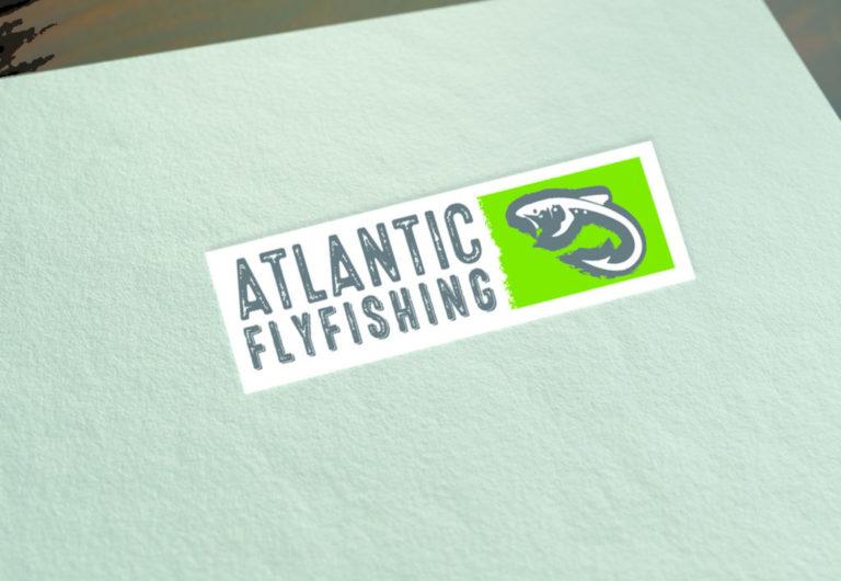 Atlanic fly fish logo design