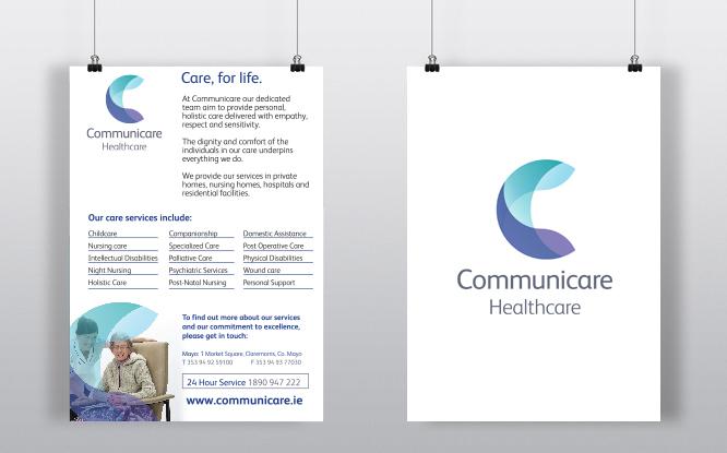 communicare poster design-print design-mayo-ireland