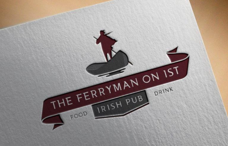 Logo Design - Pub - The Ferryman on 1st