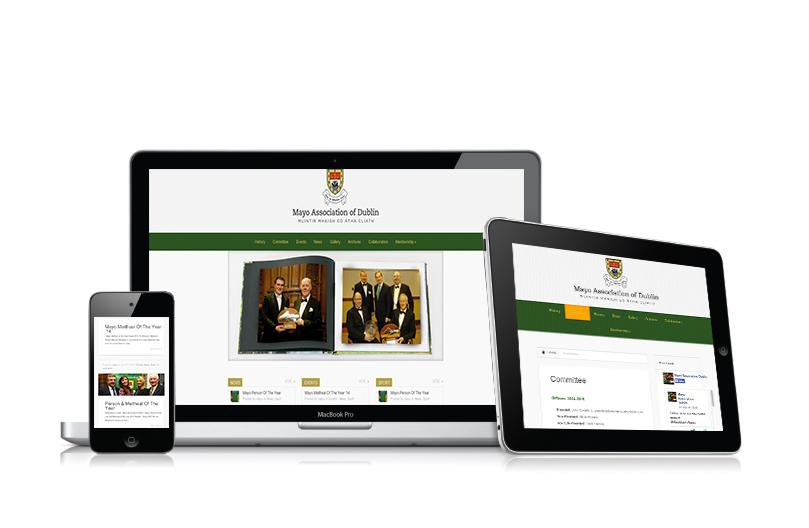 website design-mayo association-ireland