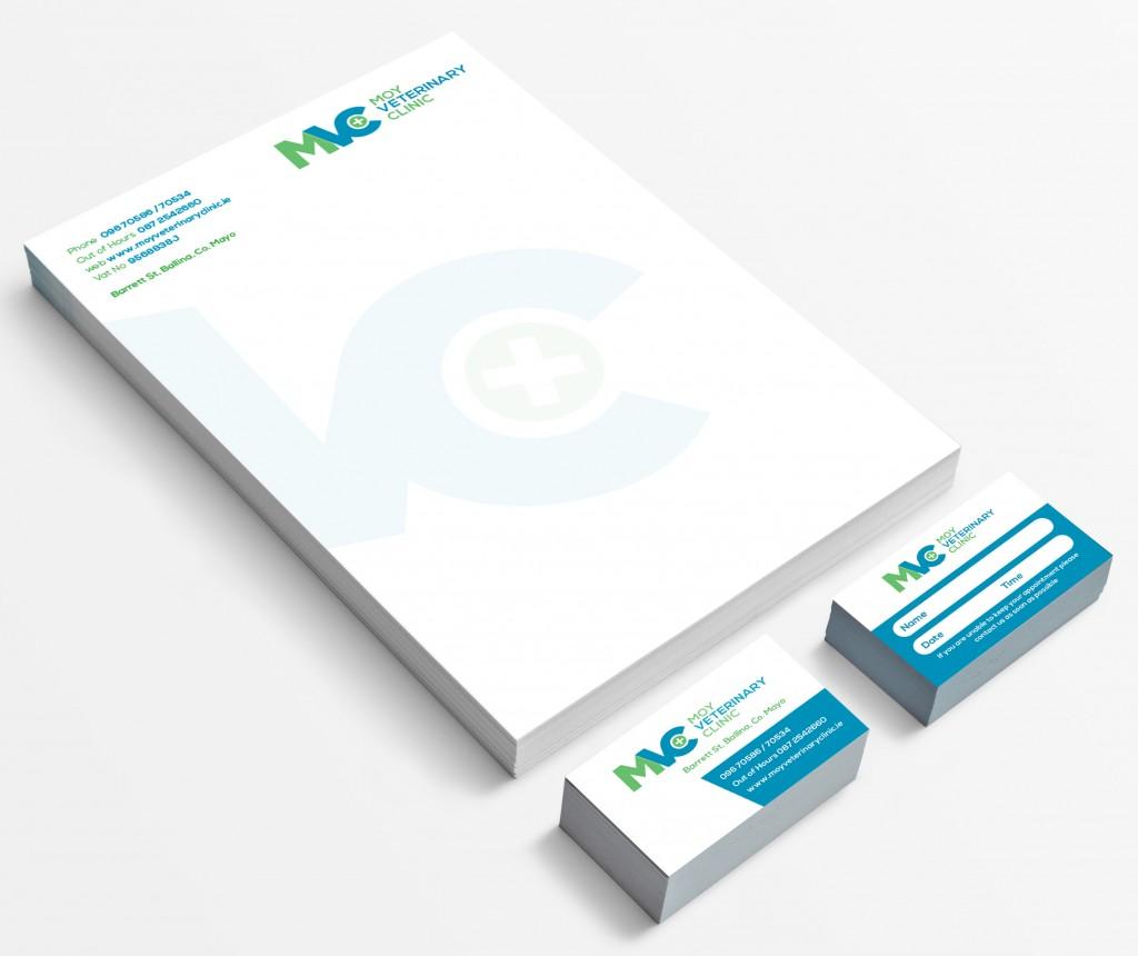 moy-veterinary-clinic-mayo-ireland-stationary-design