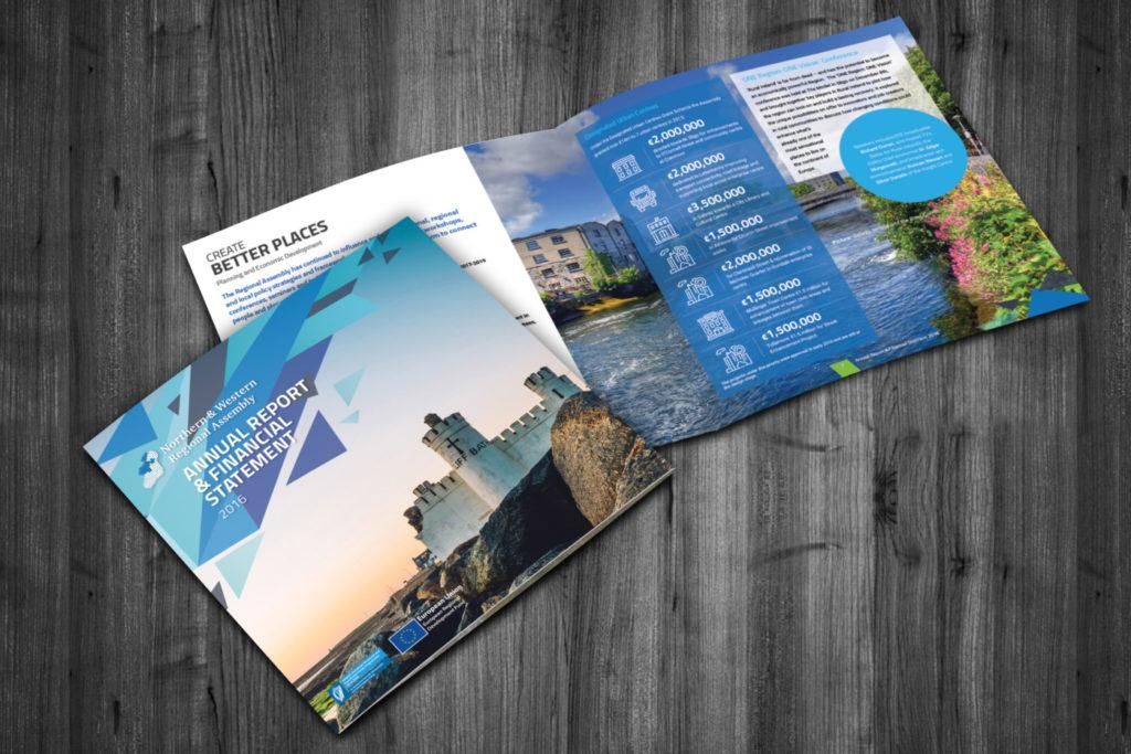 Brochure Design - Designwest = NOrthern and Western Regional Assembly