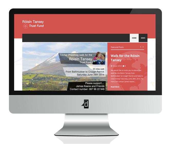 roisin-tansey-trust-fund-website-design-wordpress-mayo-ireland