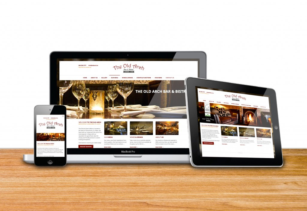The_Old_Arch_website_design_west_of_Ireland_Mayo