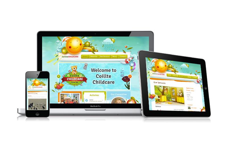 coillte childcare website 2