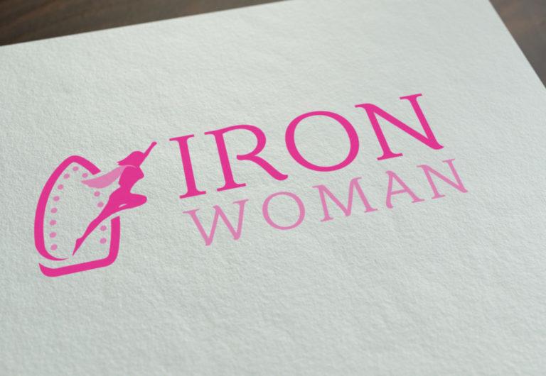 Logo Design - Iron Woman
