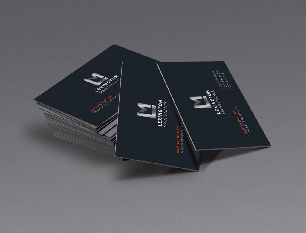 lexington maintenance business cards