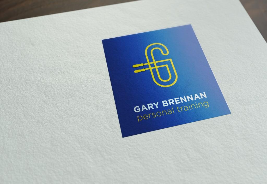 logo_design_gary_brennan_personal_training_west_of_Ireland_mayo