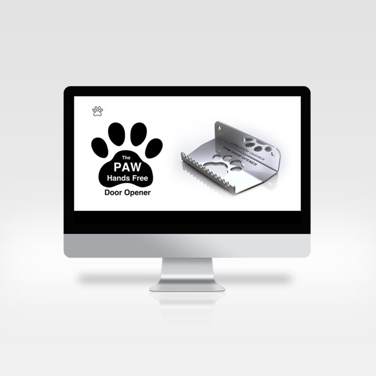 Website Design - The PAW Hands Free Door Opener, Knock Road, Kiltimagh, Co. Mayo