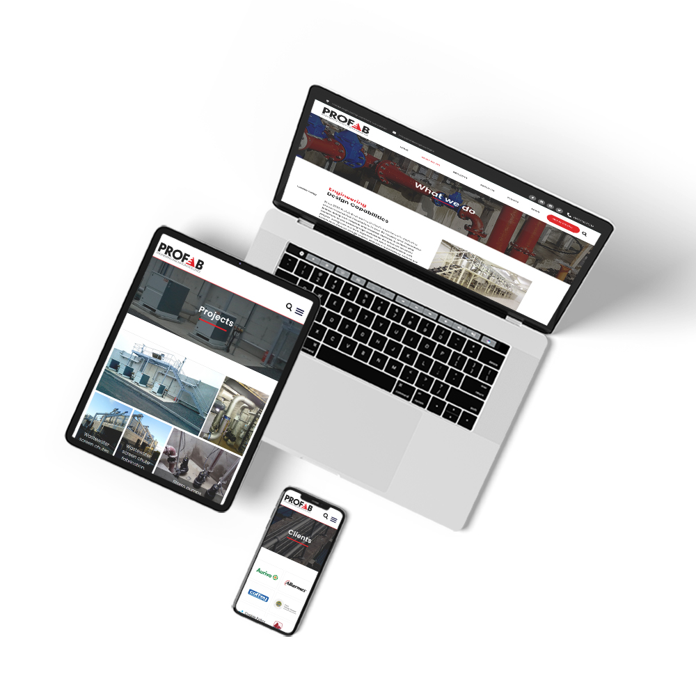 Web Design for Profab Engineering