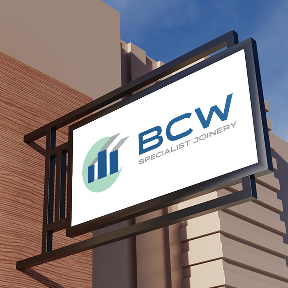 BCW Signage Logo Design