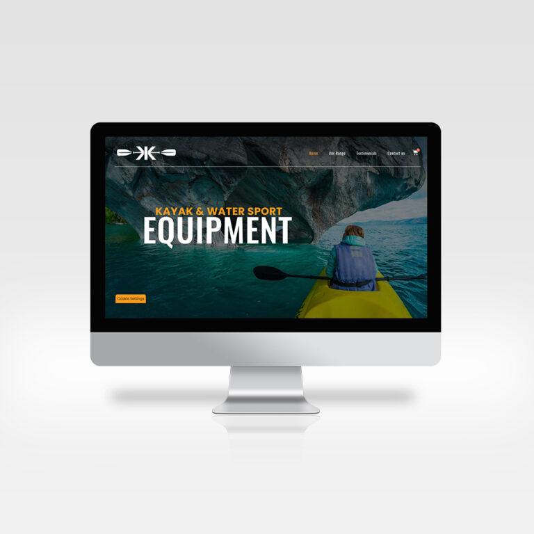 Website Design - Kellys Kayaks- Athlone - Roscommon