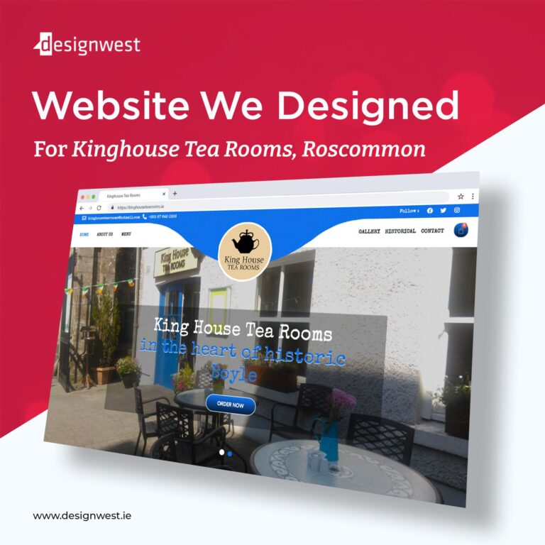 Web Design Roscommon - Latest Web Development Project - Designwest