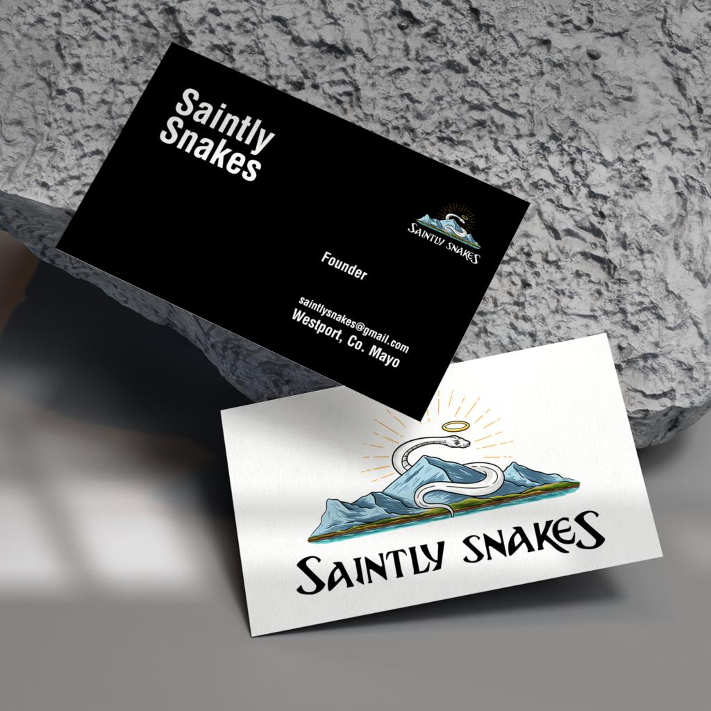 Business Card Design - Logo Design - Saintly Snakes