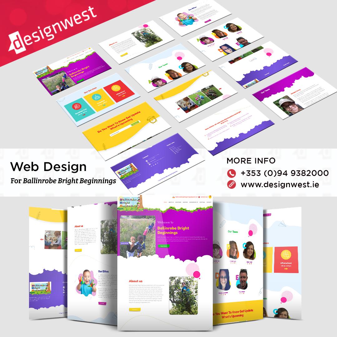 Website Design   Ballinrobe Bright Beginnings   Co. Mayo 2021