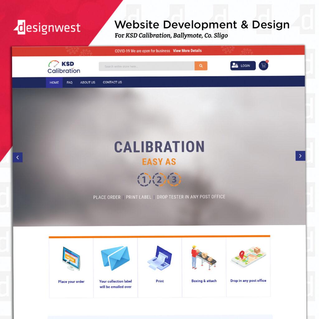KSD callibration - Website Design