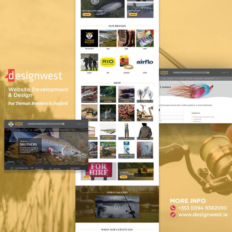 Tiernan Brothers - Website Design - Instagram