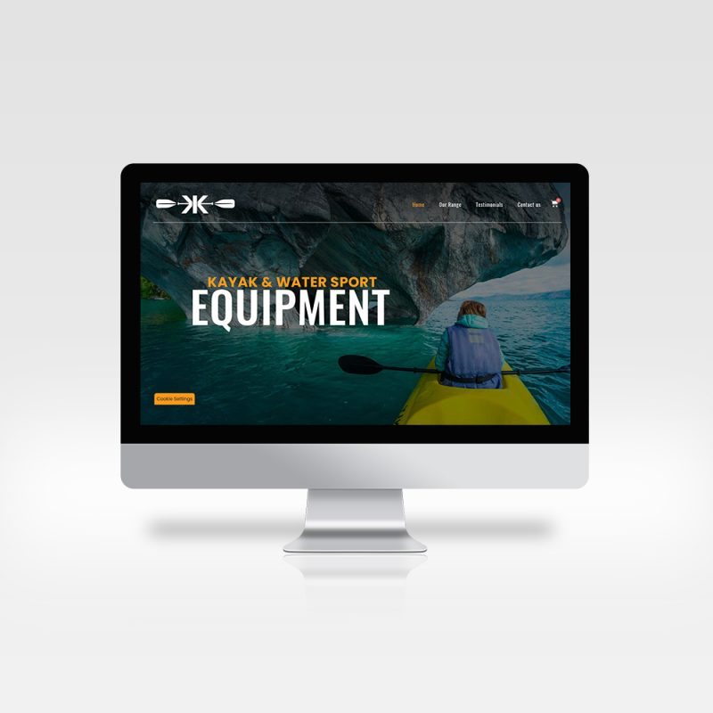 Website Design - Kellys Kayaks- Athlone - Roscommon
