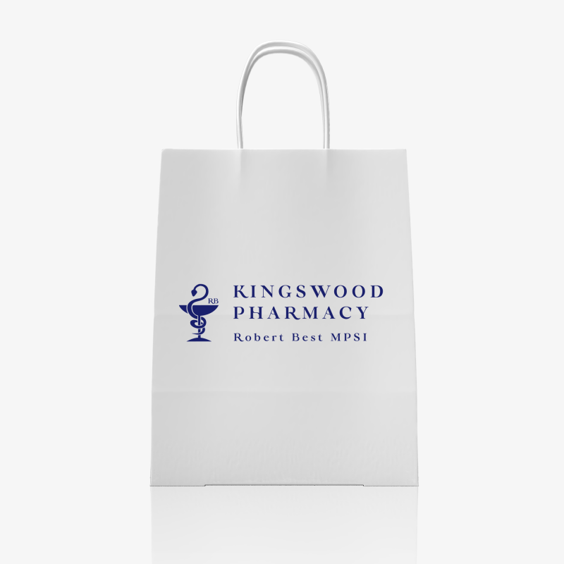 Kingswood Logo Paper Bag